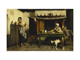 Love's Distraction Giclee Print by Evariste		 Carpentier