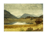 Wind River Country Giclee Print by Albert Bierstadt