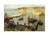 Brixham Harbour Prints by Terrick		 Williams