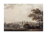 View of the Towers and Spires of Oxford, Oxfordshire Reproduction procédé giclée par George Bulteel		 Fisher