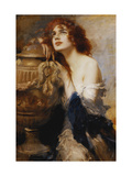 A Titian Beauty Giclee Print by Leopold Schmutzler