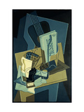 Music Book Print by Juan		 Gris