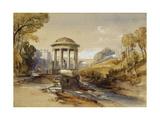 St Bernard's Well, Water of Leith, near Edinburgh, Scotland Giclée-Druck von William Leighton Leitch