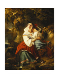The Approaching Storm Giclee Print by Franz Xaver		 Winterhalter