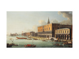 The Bacino di San Marco, Venice, looking west Giclee Print by Antonio		 Joli