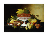 Still Life with Strawberries Prints by Severin Roesen