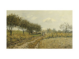 The Path in the Countryside Giclee Print by Alfred		 Sisley