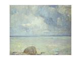 A View of the Sound Giclee Print by Soren Emil		 Carlsen