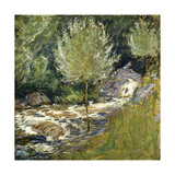 Horseneck Falls, Greenwich, Connecticut Prints by John Henry		 Twachtman