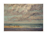 Marine - Les Equilleurs Giclee Print by Gustave		 Courbet