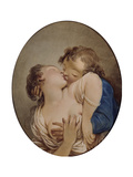 Young Lovers Giclee Print by Jean-Honoré Fragonard