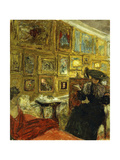 A Visit to the Hessels Giclee Print by Edouard		 Vuillard