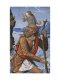 Saint Christopher Giclee Print by Jean		 Bourdichon
