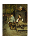 The Classroom Premium Giclee Print by Henry		 Bacon