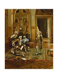 Bibliophiles Giclee Print by Antonio Cristobal