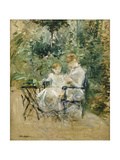 In the Garden Giclee Print by Berthe		 Morisot