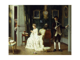 The Visitor Giclee Print by Joseph		 Caraud