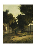 Road Posters by Camille Pissarro