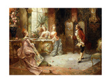Marie Antoinette's History Lesson Giclée-Druck von A. Telser