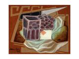 Ace of Diamonds Prints by Juan Gris
