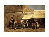 Tánger Lámina giclée por Edwin Lord Weeks