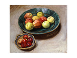 Still-life with Apples Giclee Print by Henri		 Lebasque