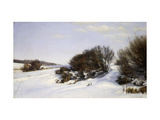 Winter Near the Sea Giclee Print by Janus Andreas Bartholin Cour