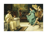 The Roman Dance Giclee Print by Sir Lawrence Alma-Tadema