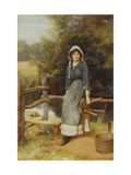 The Milkmaid Giclee Print by Charles Edward		 Wilson
