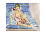 The Artist's Son Premium Giclee Print by Henri		 Lebasque