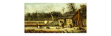 Cabin Scene Premium Giclee Print by William Aiken		 Walker