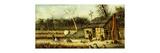 Cabin Scene Premium Giclee Print by William Aiken Walker