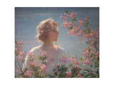 The Breath of the Wild Azalea Premium Giclee Print by Charles Courtney Curran