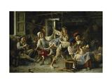 El columpio, Fragonard Lámina giclée por Giovanni Battista Torriglia