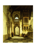 The Palace of Casimir, the King of Poland Giclee Print by Francois		 Stroobant
