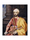Portrait of His Excellency Hamet Ben Hamet Ben Hadii, Ambassador Extraordinary Giclee Print by Susan Penelope Rosse