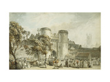 St. George's Gate, Canterbury Print by Paul		 Sandby