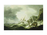 A Shipwreck Posters by Thomas		 Luny
