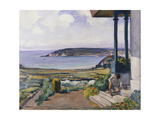 The Garden on the Morgat Bay Prints by Henri		 Lebasque