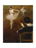 The Ballet Lesson Giclee Print by Pierre		 Carrier-Belleuse