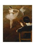 The Ballet Lesson Prints by Pierre Carrier-Belleuse