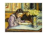 Woman Reading Giclee Print by Armand		 Guillaumin