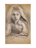Martha Hess as Silence Prints by Henry Fuseli