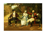 Competing for Attention Giclee Print by Henry Gillard		 Glindoni