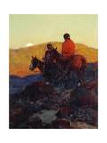 Sunset Glow Giclee Print by Frank Tenney		 Johnson