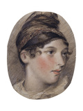Study of the Head of a Lady in Profile Giclee Print by John Constable