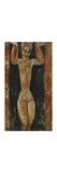 Caryatid Premium Giclee Print by Amedeo Modigliani