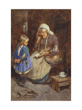 The Thorny Path of Knowledge Giclee Print by John Henry		 Henshall