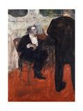 The Violinist Dancla Prints by Henri de Toulouse-Lautrec
