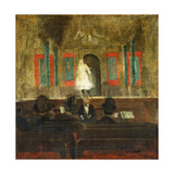 Queenie Lawrence on the Stage at Gatti's Art by Walter Richard		 Sickert